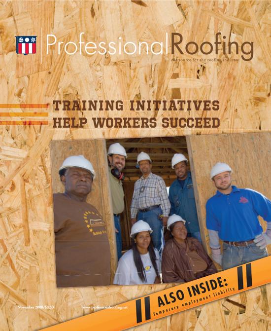 Professional Roofing Magazine 11/1/2008