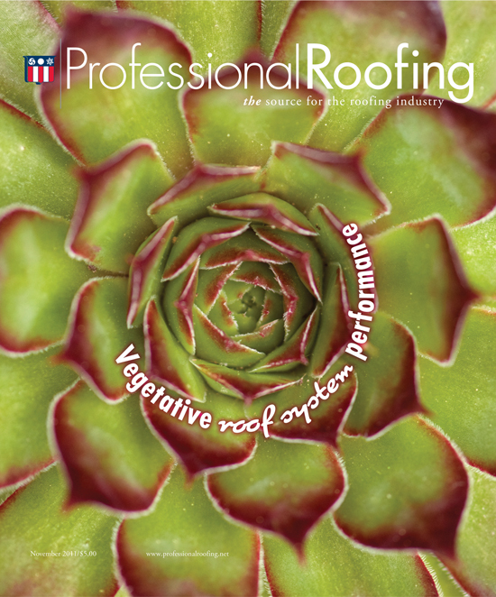 Professional Roofing Magazine 11/1/2011