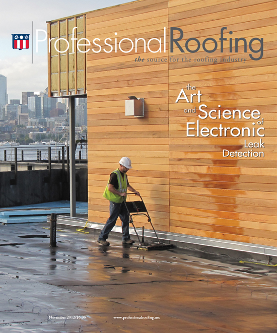 Professional Roofing Magazine 11/1/2012