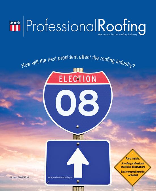 Professional Roofing Magazine 10/1/2008