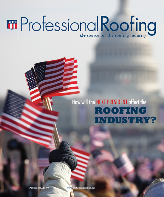 Professional Roofing Magazine 10/1/2012