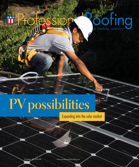 Professional Roofing Magazine 10/1/2013
