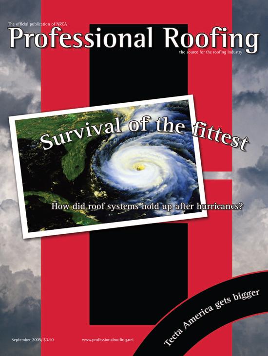 Professional Roofing Magazine 9/1/2005