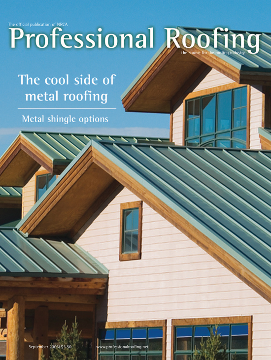 Professional Roofing Magazine 9/1/2006