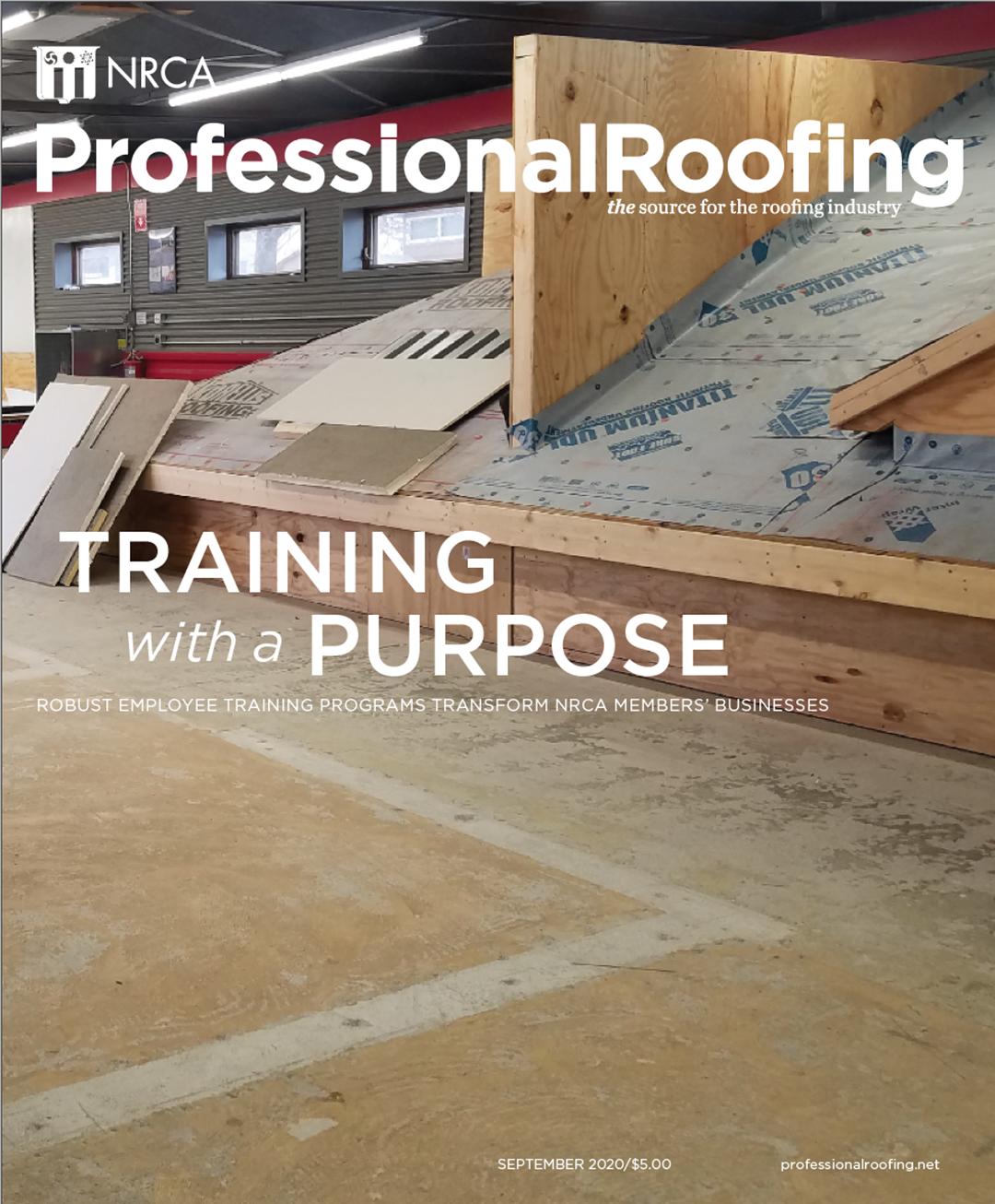 Professional Roofing Magazine 9/1/2020
