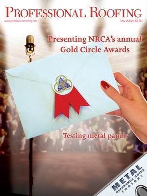 Nrca Analyzes And Tests Metal Professional Roofing Magazine