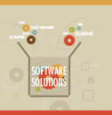 Software solutions - Many software offerings are available with several distinguishing characteristics